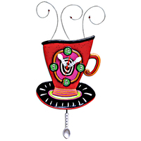 Wake Up Cup Pendulum Clock
