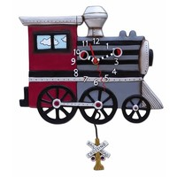 Choo Choo Train Pendulum Clock
