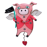 Pigs Fly Pendulum Clock