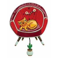 Cool Cat Pendulum Clock