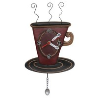 Cozy Time Pendulum Clock