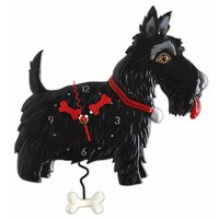 Scotty Dog Pendulum Clock