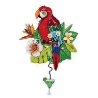 Polly Parot Pendulum Clock