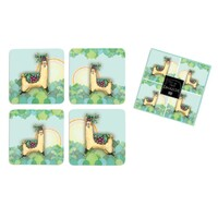 Llama Love - Set of four coaster