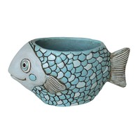 Blue Fish Planter Kit