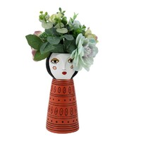 Lady Orange Planter-Vase